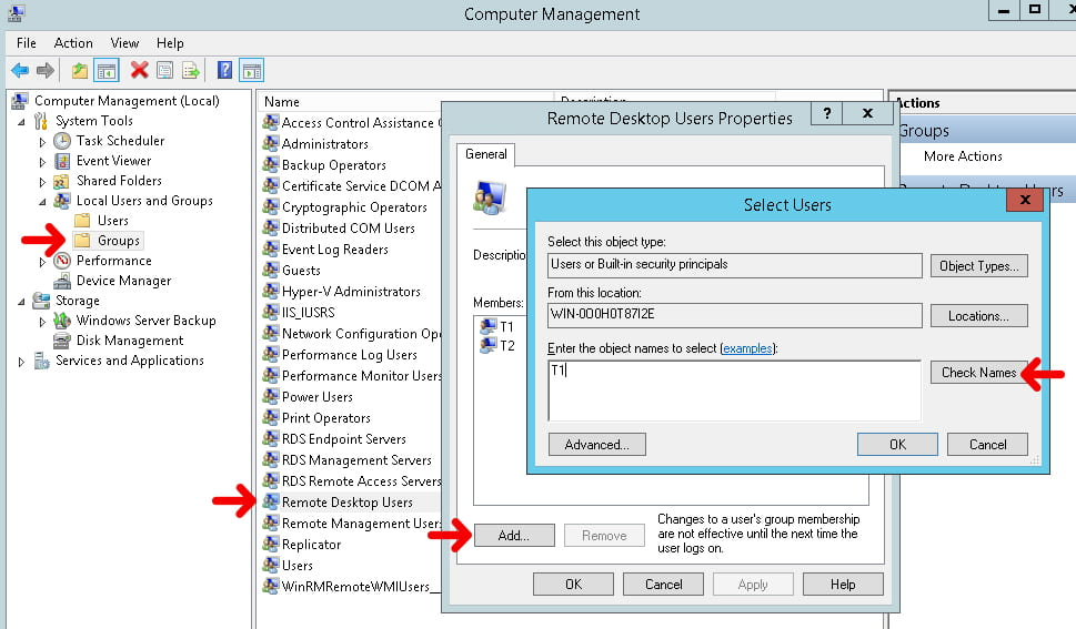 Create user to have multiple RDP sessions