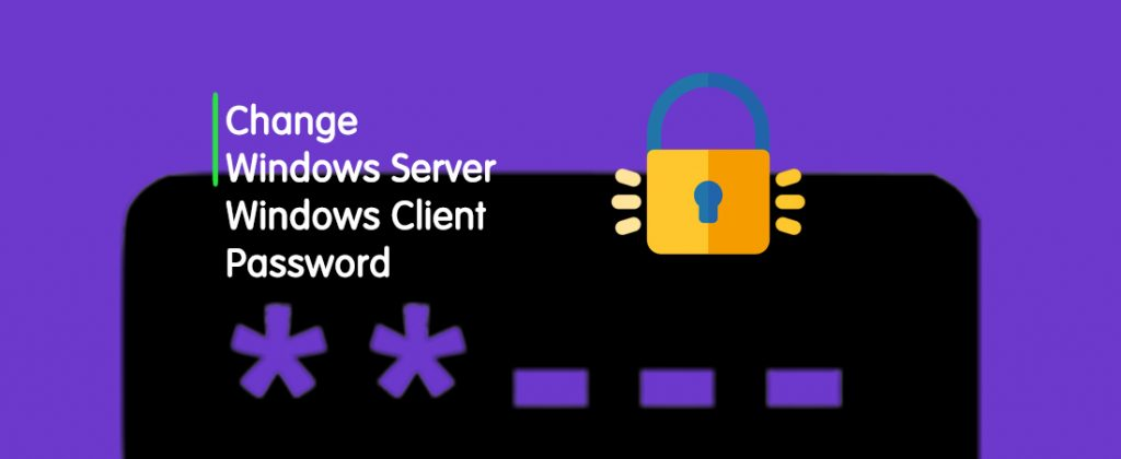 How To Change The Windows VPS Password