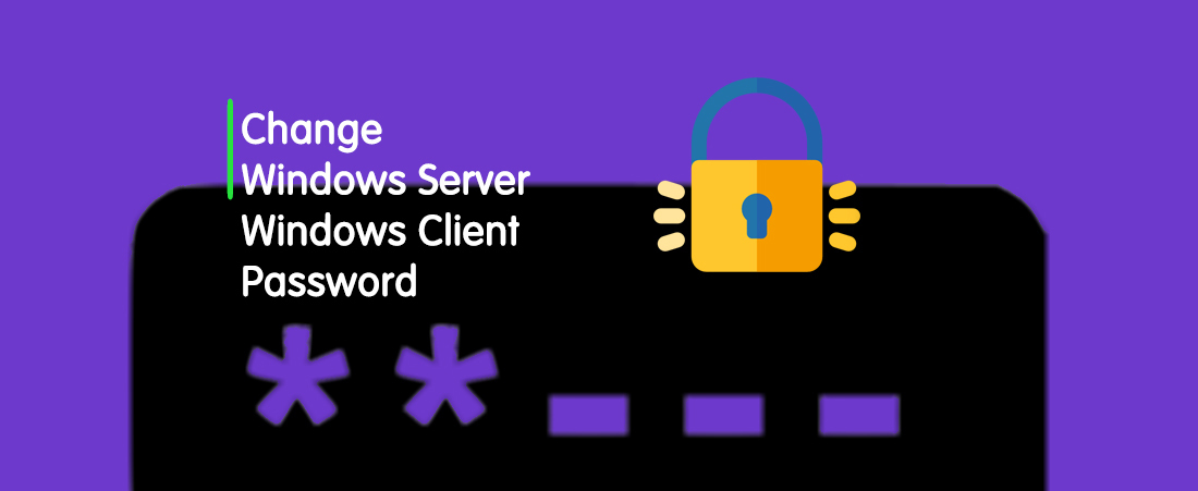 How To Change Windows VPS Password?