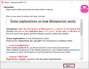 how Wampserver works