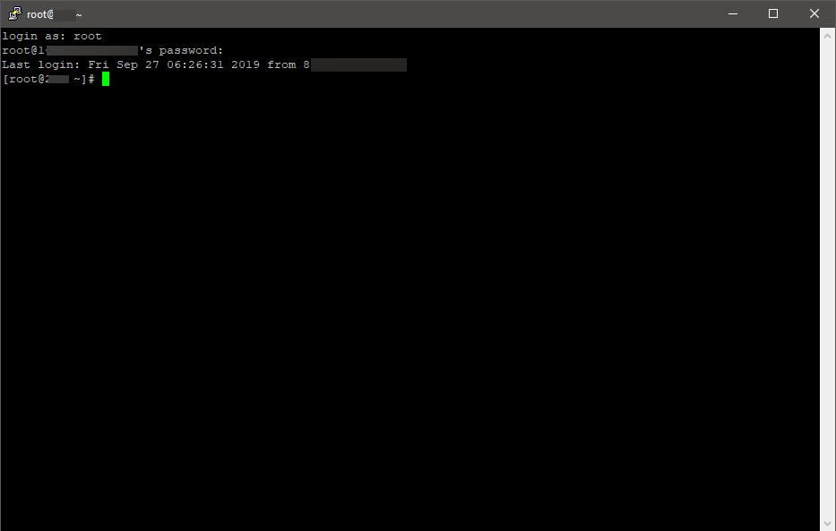 Linux ssh demo