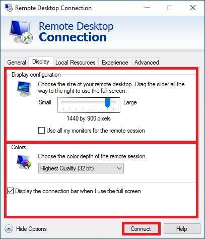 Remote desktop settings3