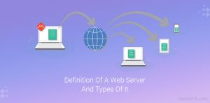 Definition Of A Web Server And Types Of It