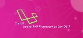 How to install Laravel on CentOS 7