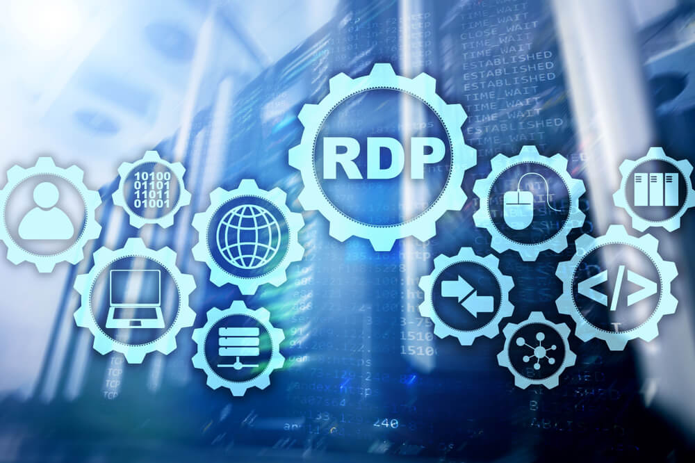 What is the difference between shared RDP and admin RDP?