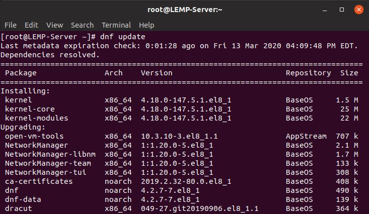 update repository