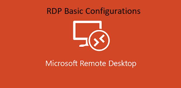 4 Basic Configuration Tasks After Ordering RDP