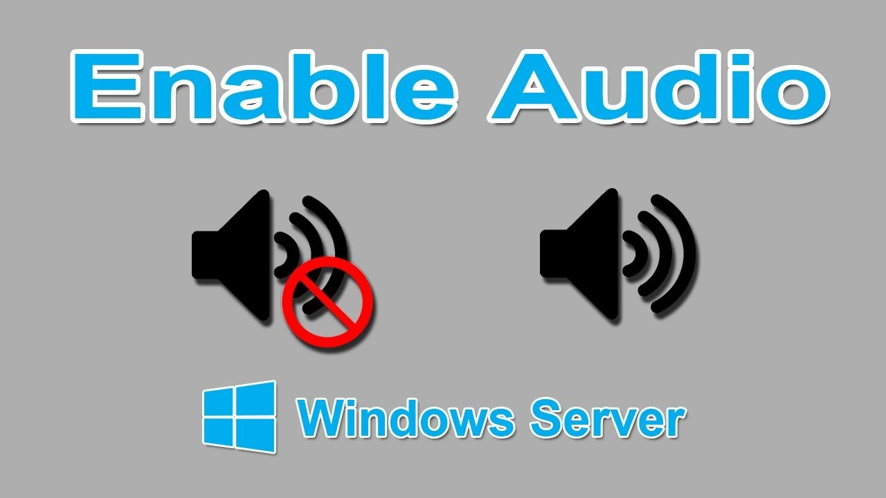 Enable Sound In Windows VPS In Easy Steps