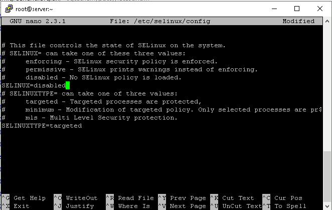 disable SELinux to change ssh port