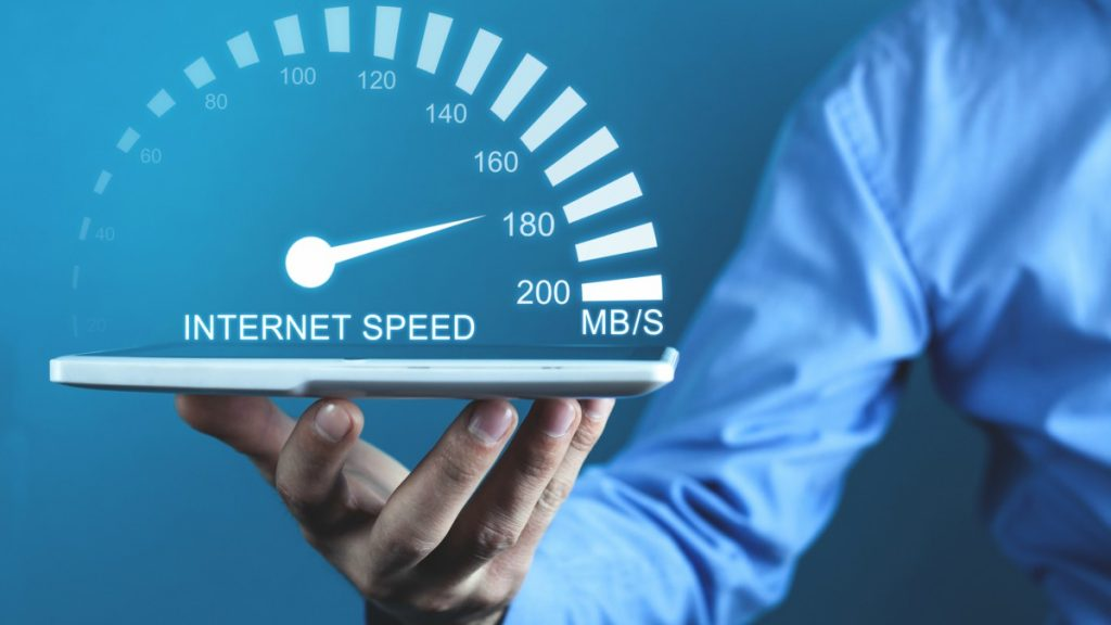 how to test internet speed in cetos 7
