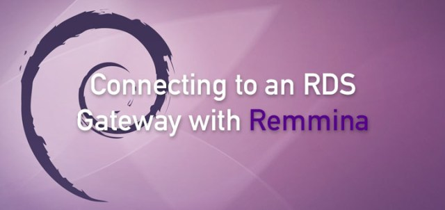 Connecting to RDS via Remmina