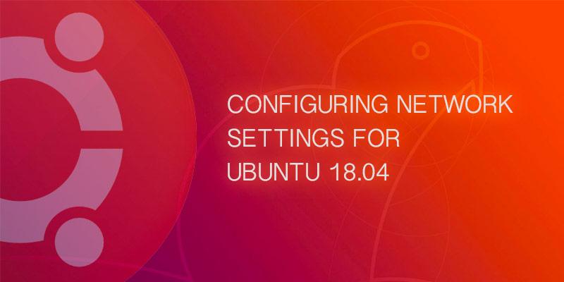 configure static IP on ubuntu 18 server