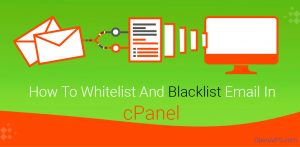 How To Whitelist email in cPanel