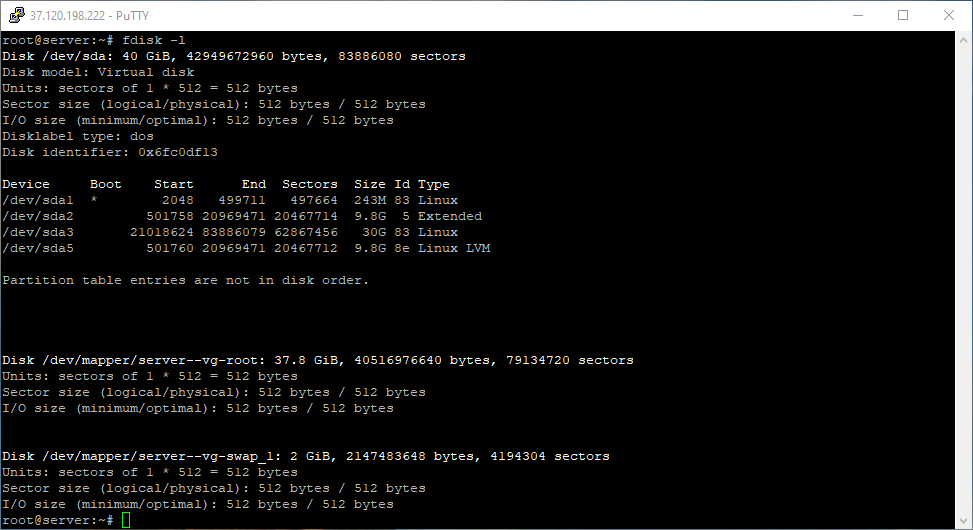 List disks to test disk speed in Linux Debian