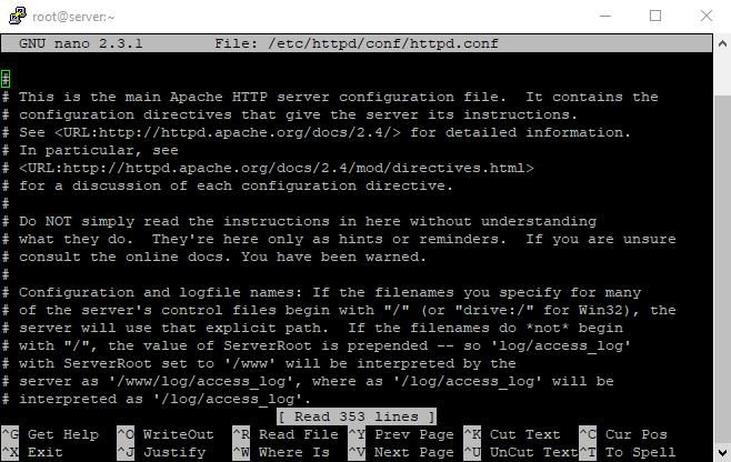 11 virtuall host 7th command nano config files 1