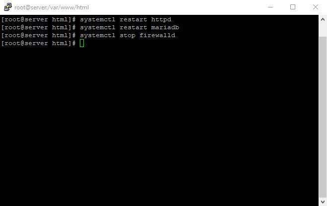 17 stop firewalld