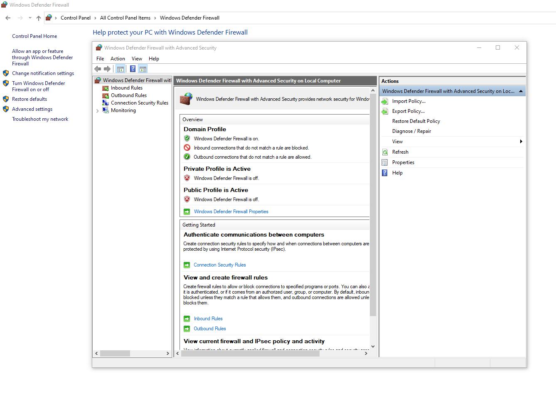 Port Forwarding In Windows 10 Using Firewall