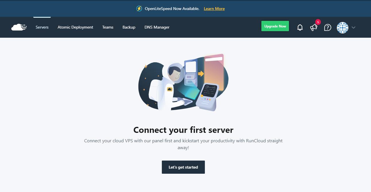 2 RunCloud Server Connect