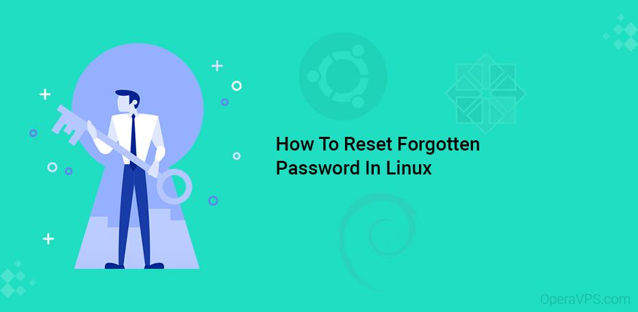Reset Forgotten Password In Linux