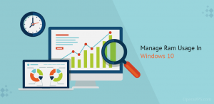 manage ram usage in windows 10