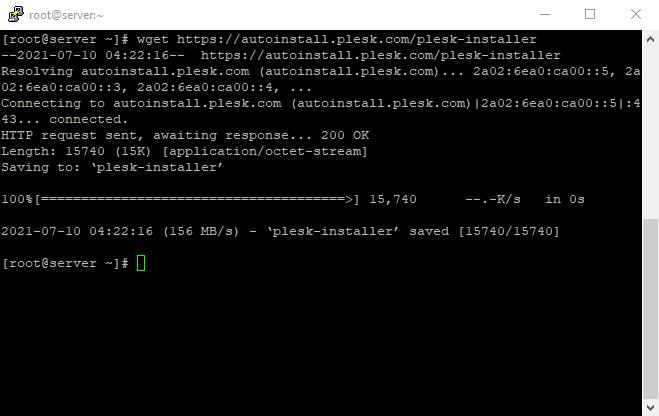 1 Plesk Installation Script On Linux VPS 1