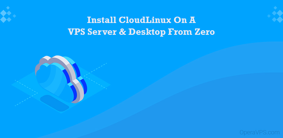 install cloudlinux from zero