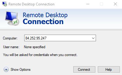 Remote Desktop Connection To Xrdp